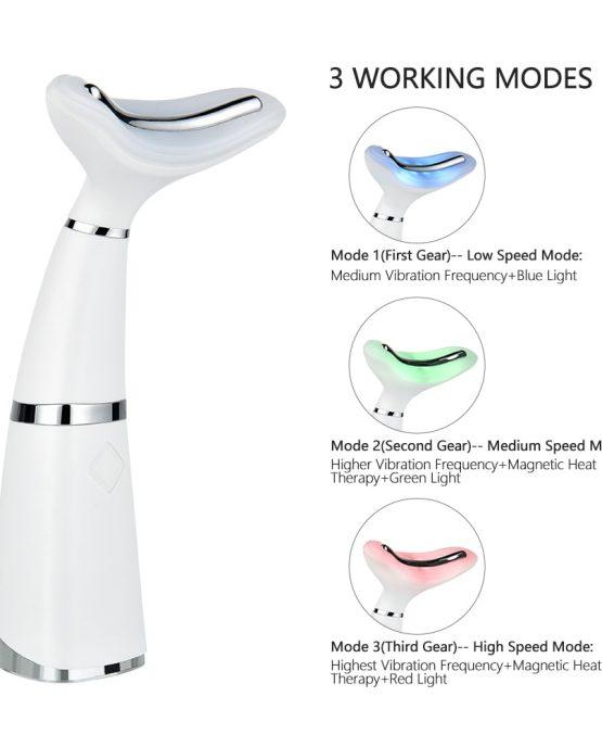 Sonic Face Massager, Skin Tightening Machine, V-Shape Firming & Tonining Device